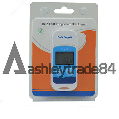 Elitech RC-5 USB Temperature Data logger Recorder Internal Sensor 32000 Points
