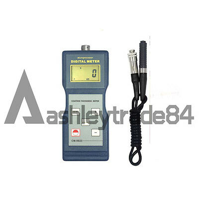 CM-8823 Paint Meter Film Coating Thickness Gauge Tester NF Probe 0-1000UM NEW