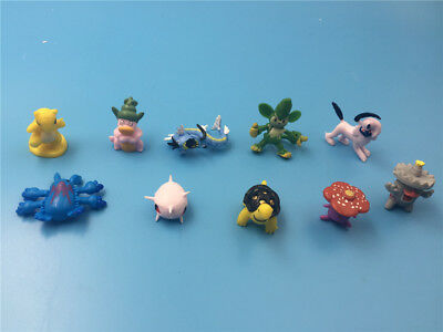 10PCS Japan Anime Pokemon PVC Action Figure Collectible Model Toy gift 3-7