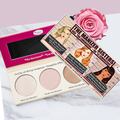 Mary Cindy Betty Lou Manizer Sisters Highlight Blusher Eyeshadow Palette