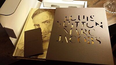 Orig LOUIS VUITTON MARC JACOBS Ex RARE GOLD Fashion Photo Book w/ 3-D SLIPCOVER