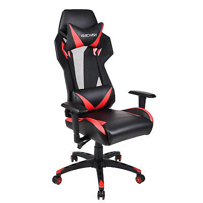 Office Gaming Chair Racing Style Leather Ergonomic High Back Computer Desk Seat