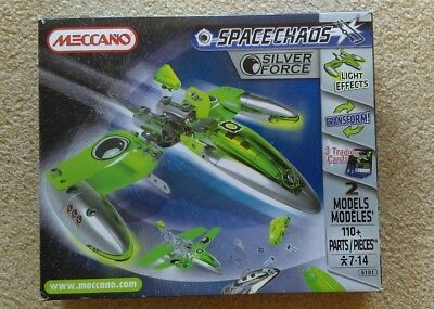 meccano spacechaos silver force