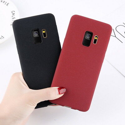 Thin Matte Soft Case TPU Cover For Samsung Galaxy J8 2018 Note 10 9 S9 Plus S10