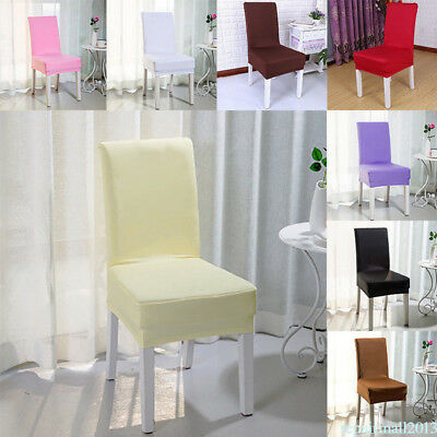 High Elastic Chair Covers Home Seat Slipcover Multi-Colors Wedding Decor Popular
