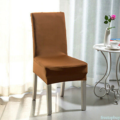 Chair Seat Cover for Home Dining Office Hotel High Elastic Soft Chair Cover 1pcs