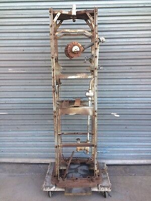 Vintage TOKHEIM 39 GAS PUMP FRAME AND BASE Full Size Collectible Fuel Petrol