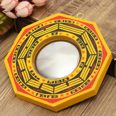 6'' Chinese Feng Shui Dent Concave Bagua Mirror Lucky Blessing House Protection
