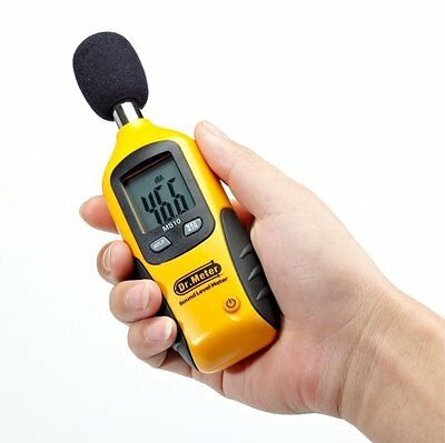 Dr.Meter Sound Level Meter MS10 Digital Decibel Tester 30 dBA - 130 dBA