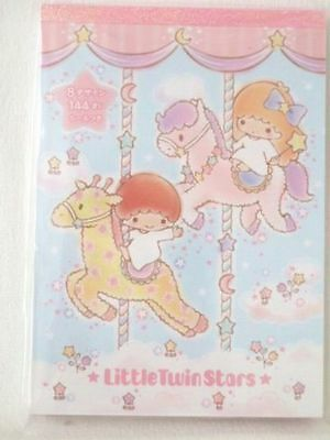 Sanrio Little Twin Stars memo pad NEW 8 designs 144 sheets