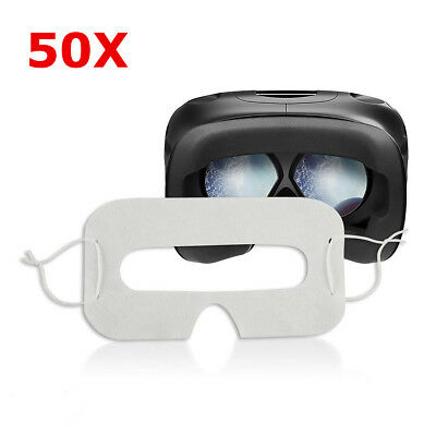 50 PCS Disposable Hygiene Eye pad Face Mask For HTC Vive/PlayStation VR Headset