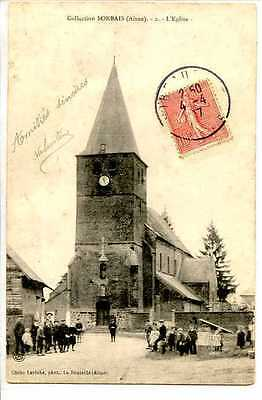 Cp 02 Aisne - Collection Sorbais - L'eglise