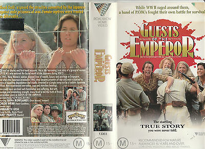 Guests Of The Emperor Aka Silent Cries Gena Rowlands Nick Tate Rare Palvhs Video