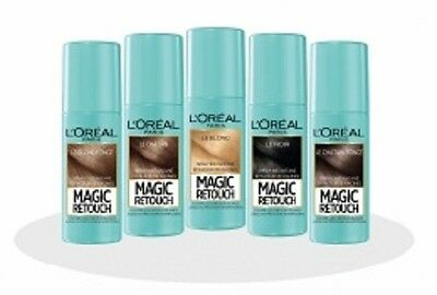 L'Oreal Magic Retouch BLACK - Instant Root Concealer Spray 75ml