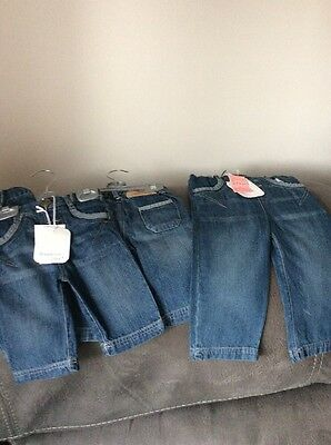 New With Tags Bundle Baby Boys Jeans