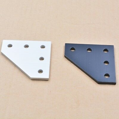 5 hole 90 degree joint board plate bracket connection for 2020 aluminum profile