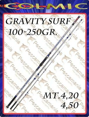 Angelrute Colmic gravity Surf Casting gr. 100-250 abgebaut 3 Abschnitte