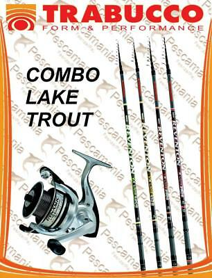 Set Trabucco lake trout fishing rod Reventon XT + reel dynamic -20% combo