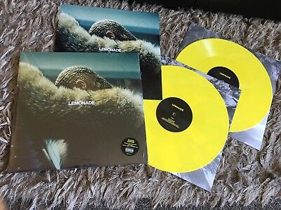 Beyonce - Lemonade - Sealed YELLOW COLOURED Vinyl LP