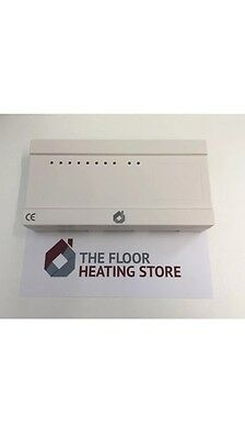 9 Zone Wiring Centre For Underfloor Heating Systems Control UpTo 16 Actuator NEW