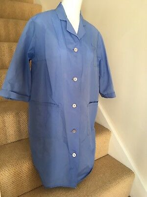 Vintage Rustly Blue Nylon Overall M