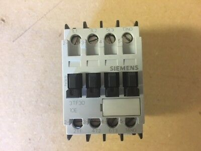 Siemens 3TF30-10E Contactor 110V Coil - Used