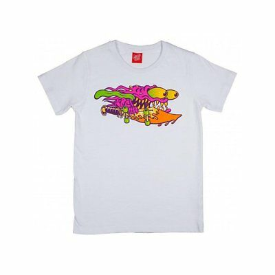 3SF17214-WHT_Camiseta Santa Cruz – Slasher Colour blanco_2017_Niños_Algodón_Nuev