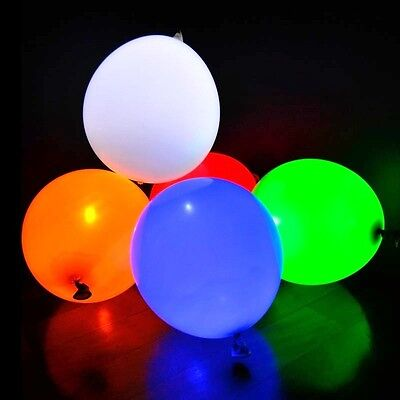 5 Palloncini Luminosi A Led Colorati Per Matrimonio Compleanno Party Balloons