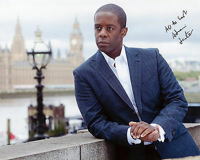 Adrian Lester - Mickey Stone - Hustle - Signed Autograph REPRINT