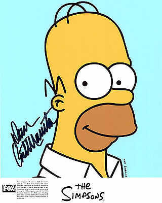 Dan Castellaneta - Homer Simpson - The SImpsons - Signed Autograph REPRINT