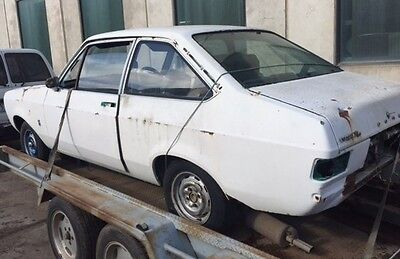 Ford Escort Mk2 2Dr Coupe rolling shell