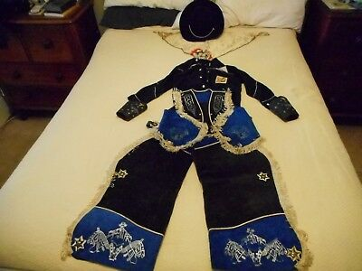 Hopalong Cassidy Childs Outfit 1950's