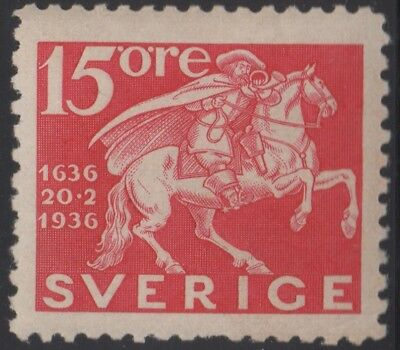 Sweden 1936 300 Years 15 ore, mh