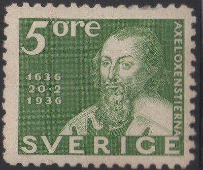 Sweden 1936 300 Years 5 ore, mh