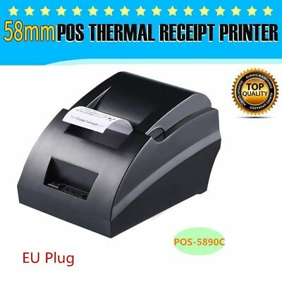 USB Bluetooth Thermal Cash Receipt Printer ESC / POS Printing Android IOS Lot BK