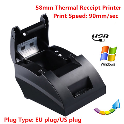Portable 58mm Wireless Bluetooth Thermal Dot Receipt Printer Windows/Android BK