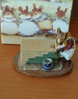 """Wee Forest Folk M-266 """"Brushing Up""""  Mint"""
