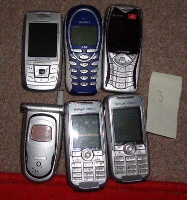 joblot mobile phones x 6 (3)
