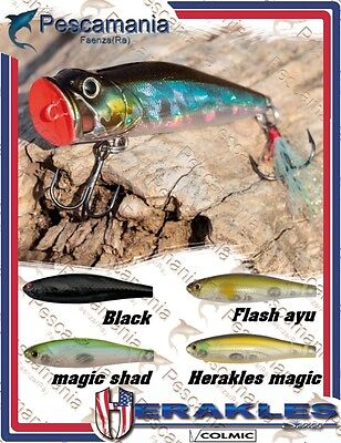 spinning lure hard bait Colmic Herakles POP EY Top water 9gr 7cm popper