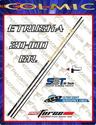 Fishing rod Colmic ETRUSKA NX beach ledgering casting 20-100 gr 4,60-5,00mt