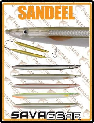 "Savage Gear ""3D LINE THRU SANDEEL"" 12,5cm 19gr spinning lure greenhouse leccia"