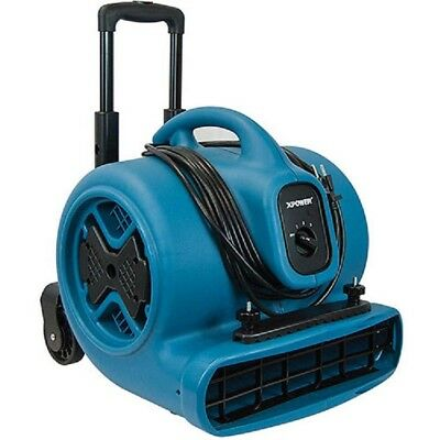 NEW! XPOWER Air Mover, Dryer, Fan, Blower w/ Telescopic Handle 1/2 HP, 3 Speed!!