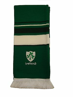 Ireland Rugby Embroidered Scarf