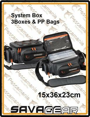 "BAG spinning Savage Gear ""LURE SYSTEM BOX BAG S"" 15x36x23cm"