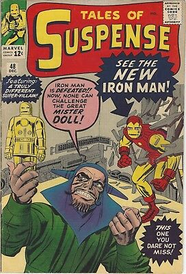 """Tales of Suspense 48 - """"See the New Iron Man!"""""""