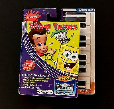Fisher-Price I Can Play Piano Software Show tunes SpongeBob - #J7527