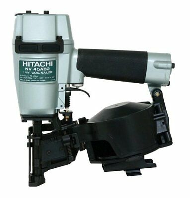 Hitachi NV45AB2 7/8-Inch to 1-3/4-Inch Coil Roofing Nailer Side Load