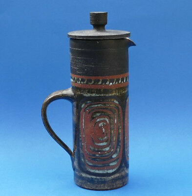 BRIGLIN POTTERY - Studio Pottery - 25cm Coffee Pot - Printed Mark