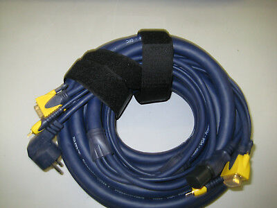 DMT Presentercable, Video-VGA-Powercable.