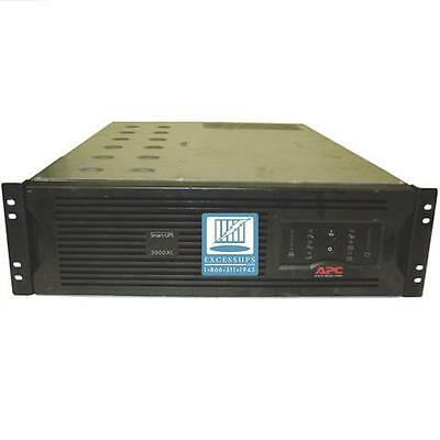 Apc Smart-Ups 3000Va Su3000Rmxl3U Rm 3U Ups - New Batteries - 1 Yr Warranty